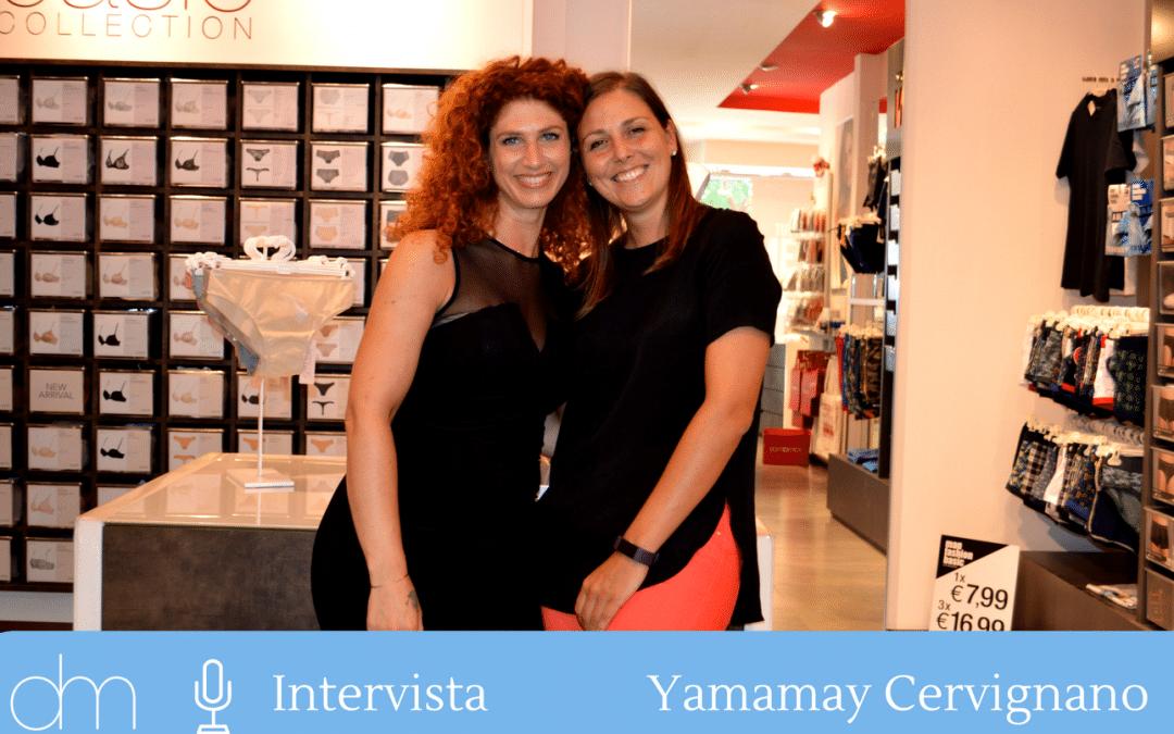 Yamamay a Cervignano coinvolge il cliente con creatività